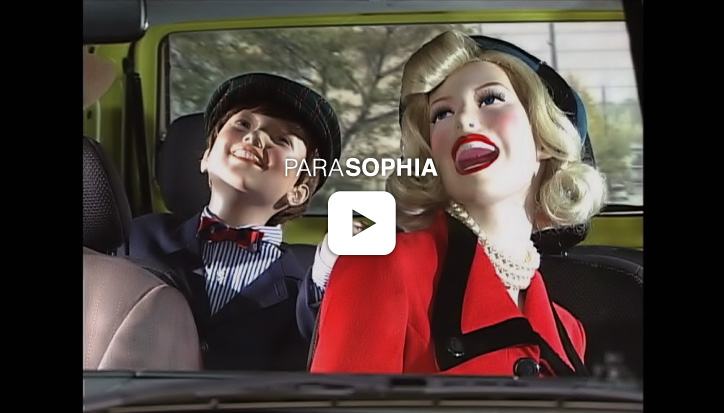 Promotional video clip for Parasophia: Kyoto International Festival of Contemporary Culture 2015